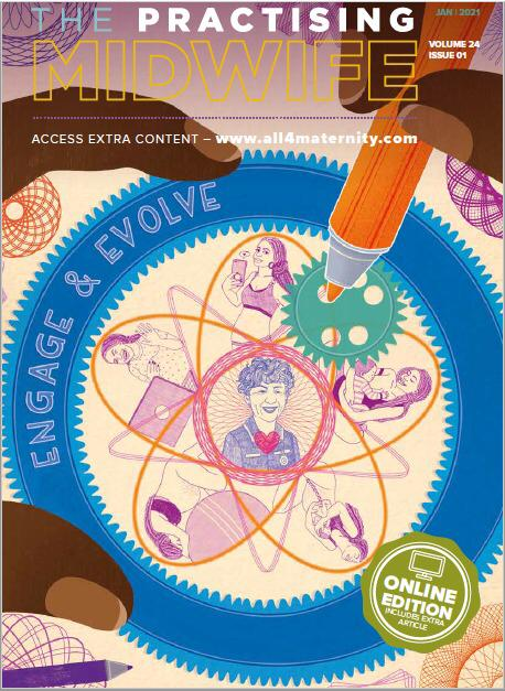 cover tijdschrift Midwive UK