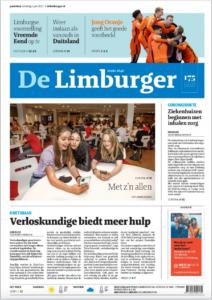 voorpagina De Limburger